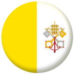 Vatican City Country Flag 58mm Button Badge
